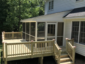 Parent Remodeling, LLC Deck Installation