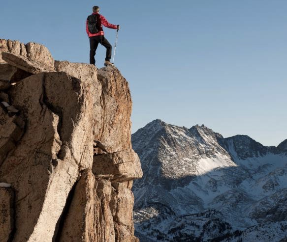 man-on-cliff